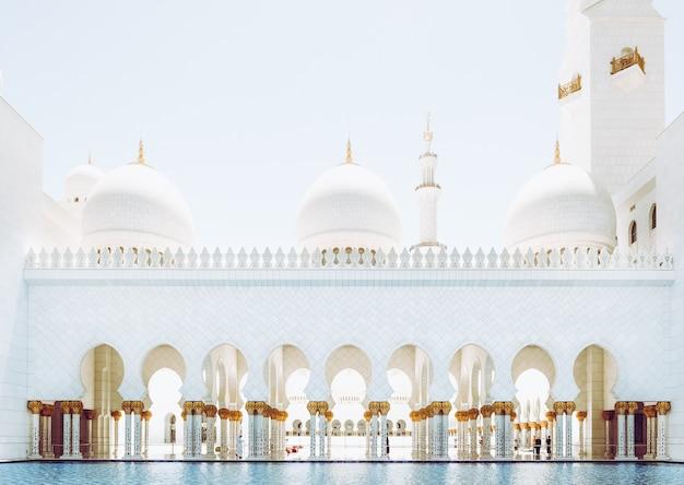 Mesquita sheikh zayed, em abu dhabi