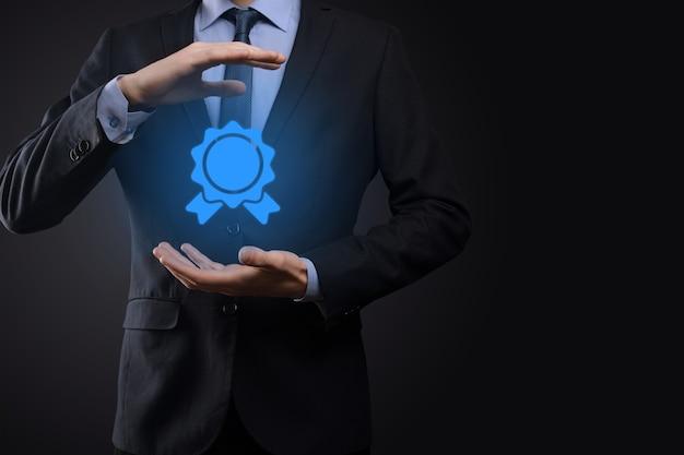 Meta de negócios e tecnologia define metas e realizações