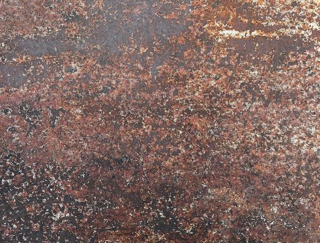Metal com fundo de textura de ferrugem