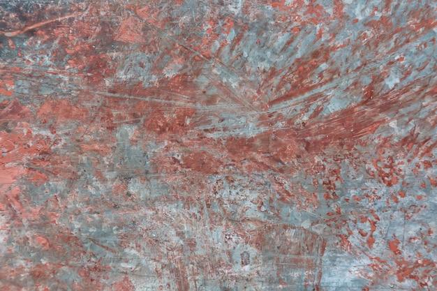Metal corroído pintado fundo sujo textura enferrujada
