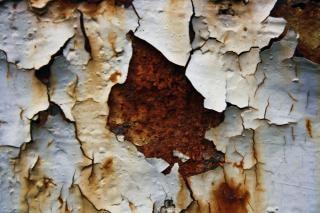 Metal oxidado, oxidado