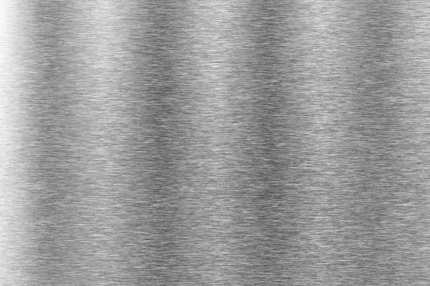 Metal textura fundo alumínio escovado prata inoxidável