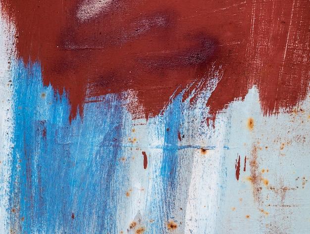 Metálico abstrato com corrosão