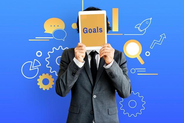 Metas de estratégia de desenvolvimento de gestão de comunicação