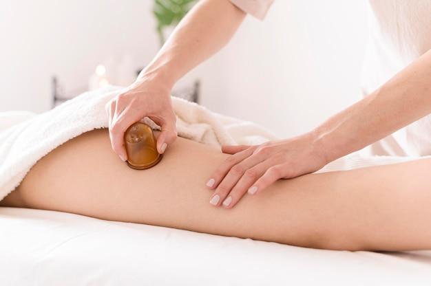Método inovador de massagem terapêutica