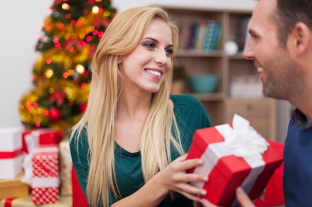 Meu amor é um presente para você no natal