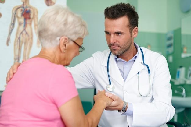 Meus pacientes são os mais importantes para mim