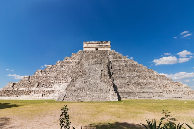 México chichen itza maya ruins