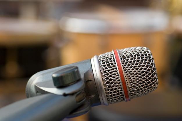 Microfone de gravação profissional