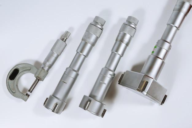 Micrômetro de calibração bore. dispositivo para medição precisa do diâmetro do furo.