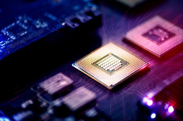 Mídia remixada de tecnologia de circuito da placa-mãe