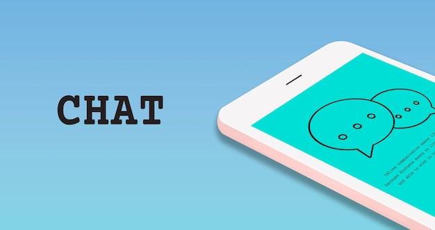 Mídia social da tecnologia de conexão digital