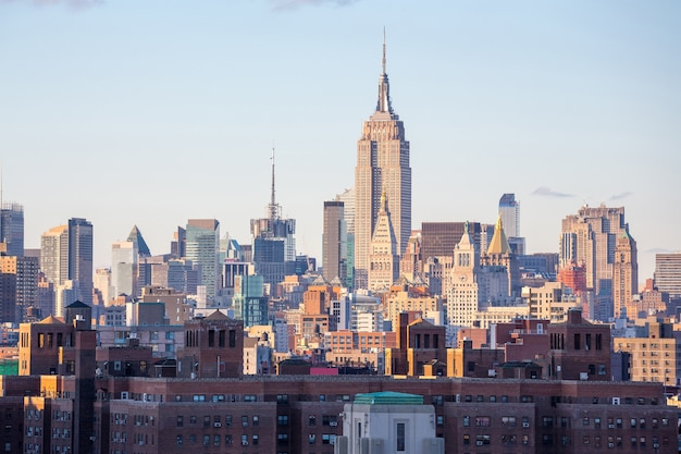 Midtown da cidade de nova york