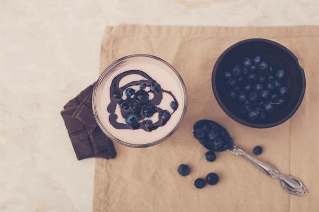 Milk-shake delicioso