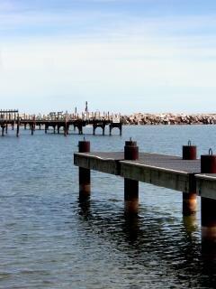 Milwaukee litoral, vazio