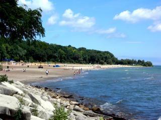 Milwaukee milwaukee, à beira-mar, as rochas