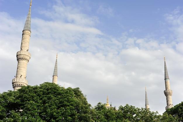 Minaretes em istambul