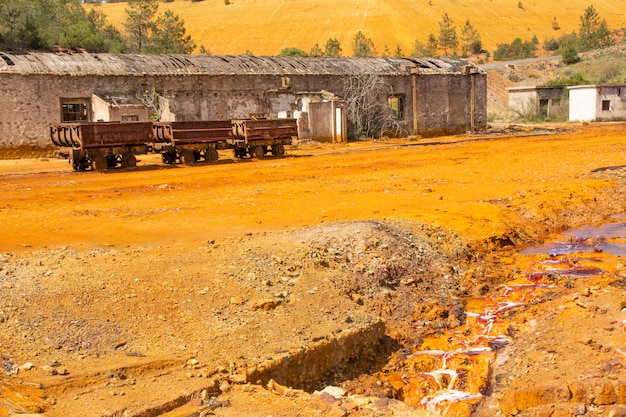 Minas de riotinto, huelva, espanha