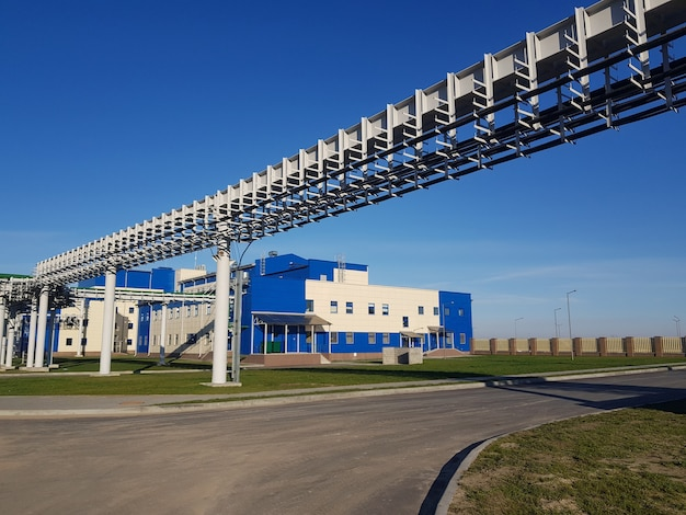 Mineração e planta de processamento. mineração de silvinita. distrito de petrikov, república da bielorrússia.
