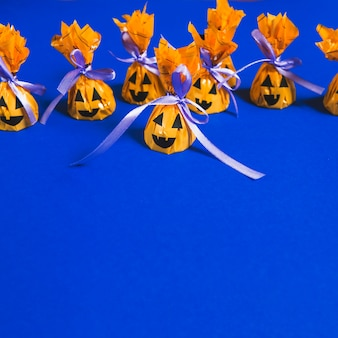 Mini doces de halloween