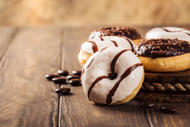 Mini-donuts envidraçados