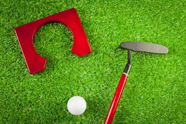Mini equipamento de golfe