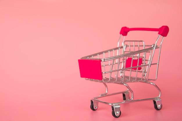 Miniatura de carrinho de compras