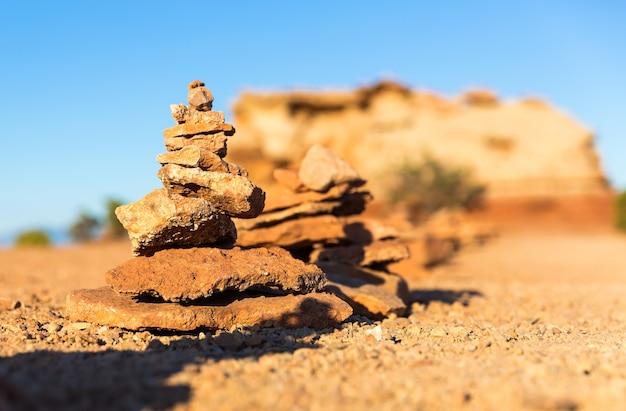 Miniatura de montanha de pedra