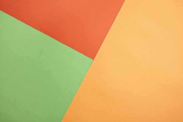 Minimalismo de textura de papel colorido abstrato