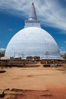 Mirisavatiya dagoba stupa em anuradhapura sri lanka