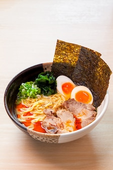Miso ramen, noodles japoneses