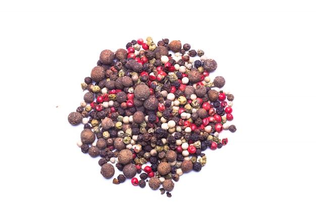 Mistura de pimentas coloridas