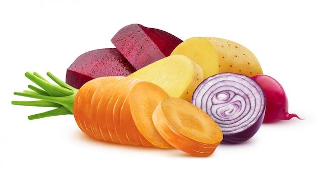 Mistura de vegetais diferentes