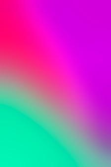 Mistura e mistura de cores vibrantes