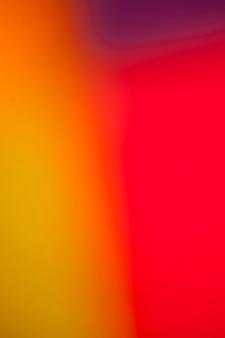 Mistura viva de cores