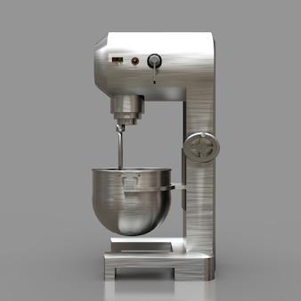 Misturador profissional para restaurantes, cafés e pastelarias. renderizações em 3d.