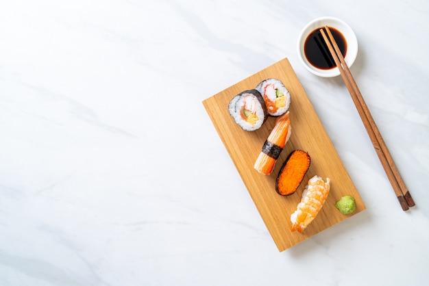 Misturar conjunto de sushi