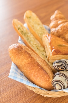 Misturar pão