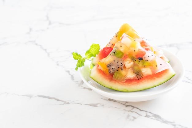 Misture geléia de frutas