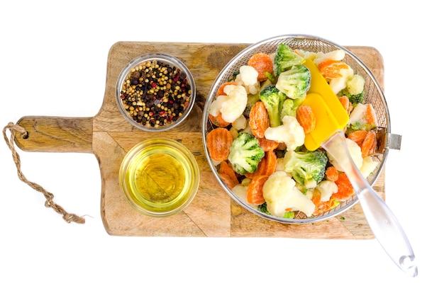 Mix de legumes congelados