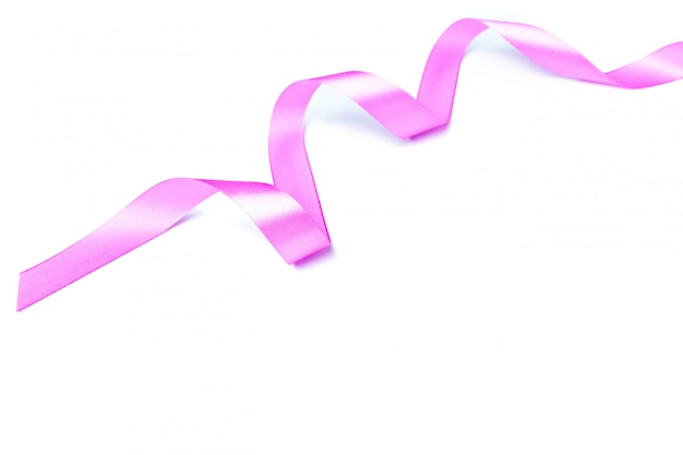 Mix pink ribbon