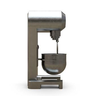 Mixer profissional para restaurantes, cafés e confeitarias renderings 3d