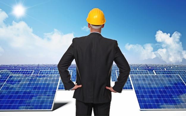 Mna com elmet e energia solar