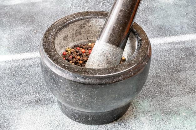 Moagem de mistura de pimenta