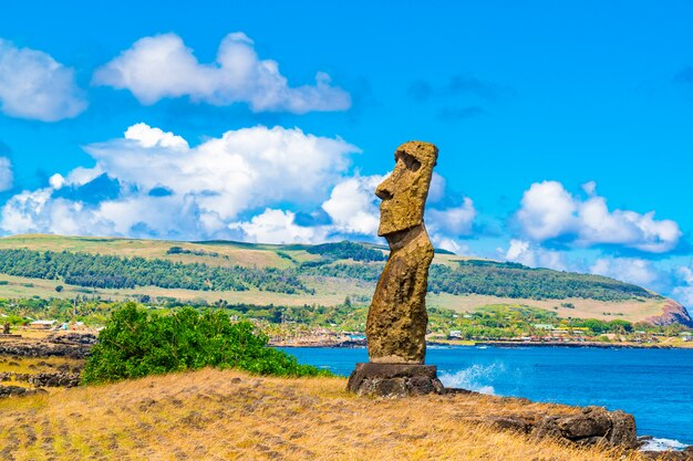 Moai, hana kio e hana kao kao