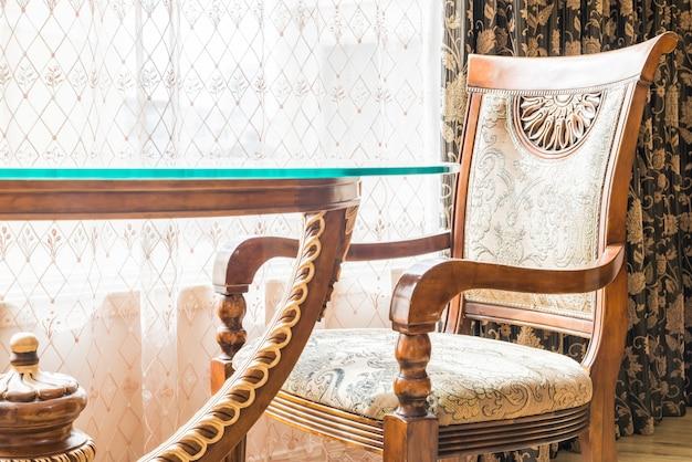 Mobília do restaurante cadeira da sala de madeira