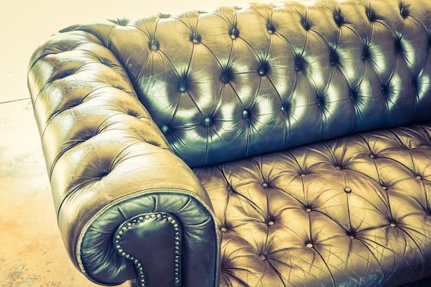 Mobiliário contemporâneo estar sofá bege