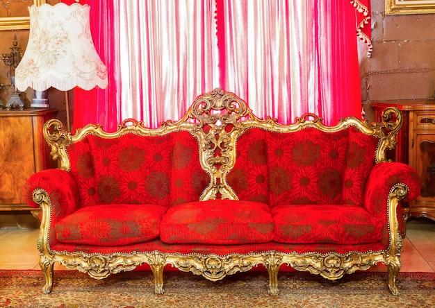 Mobiliário de luxo. apartamento deluxe