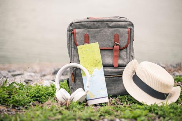 Mochila e acessórios para viagens