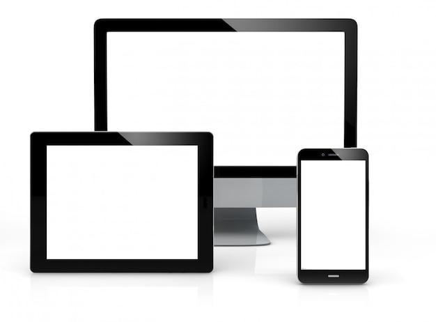 Mock-up de dispositivos